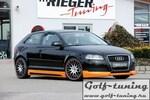 Audi A3 8P 3/5Дв 08-12 Накладка на передний бампер