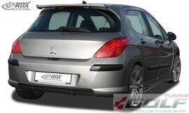 Peugeot 308 Phase 1 Накладка на задний бампер/диффузор