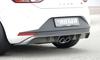 Seat Leon 5F FR 13-16 Накладка на задний бампер carbon look