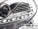Fiat Punto 09- Фары Devil eyes, Dayline хром