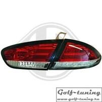 Seat Leon 1P1 09-12 Фонари светодиодные, красно-белые