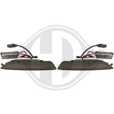 VW Scirocco 08-14 Поворотники светодиодные тонированные Lightbar design