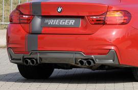 BMW F32/33 11-15 Глушитель capisto 435i-look