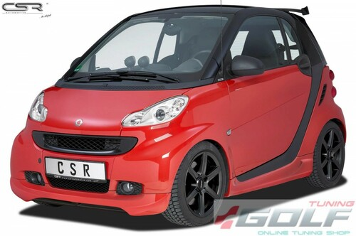 Smart Fortwo 451 Coupe/Cabrio 07-12 Накладка на передний бампер