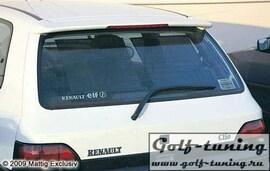 Renault Clio 91-98 Спойлер на крышку багажника