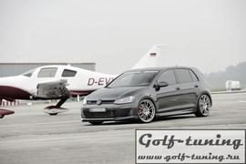 VW Golf 7 GTI/R 12-20 Накладки на пороги