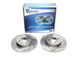 MG ZR Serie/Rover Streetwise/25/200/400  Комплект спортивных тормозных дисков