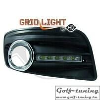 VW Golf 5 GTI Дневные ходовые огни