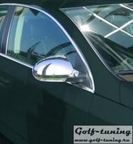 VW Passat B6 Накладки на зеркала хром