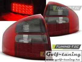 Audi A6 97-04 Седан Фонари светодиодные, красно-тонированные