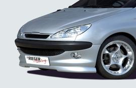 Peugeot 206 98-06 Спойлер переднего бампера