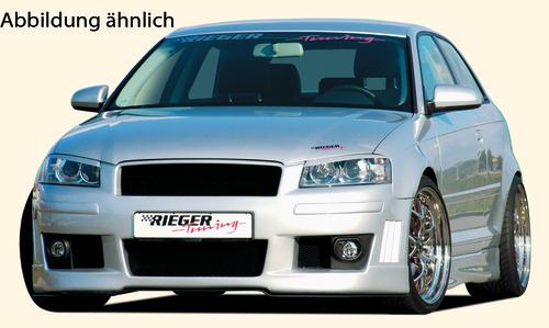 Audi A3 8P 03-05 3Дв Передний бампер