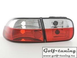 Honda Civic 92-95 Фонари красно-белые