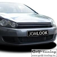 VW Golf 6 Решетка радиатора без значка черная