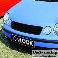 VW Polo 9N 01-05 Решетка радиатора без значка черная