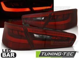 Audi A3 8V 3D 12-16 Фонари светодиодные, красно-белые lightbar design