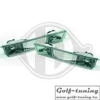 VW Golf 3, VW Vento Поворотник + ПТФ, хром
