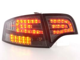 Audi A4 B7 04-08 Седан Фонари светодиодные, тонированные