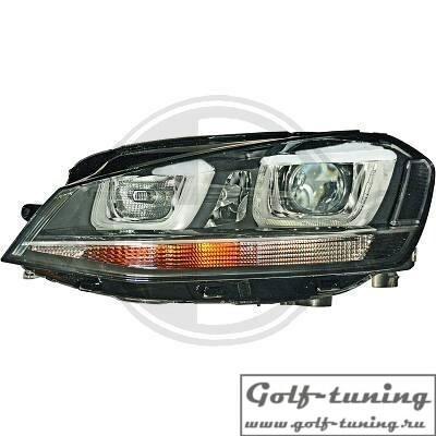 VW Golf 7 12-17 Фары под ксенон с дневными ходовыми огнями