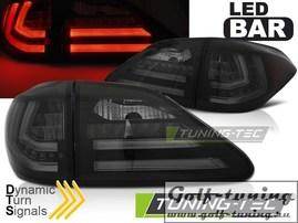 Lexus RX III 350 09-12 Фонари светодиодные, тонированные с бегающим поворотником