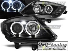 BMW Z4 E85/E86 02-08 Фары Angel Eyes черные
