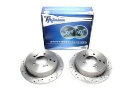 Hyundai IX35/Santa Fe I/Trajet/Tucson/Kia Sportage Комплект спортивных тормозных дисков