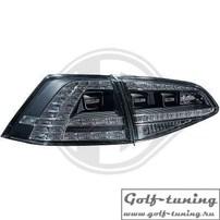 VW Golf 7 12-17 Фонари светодиодные, черные