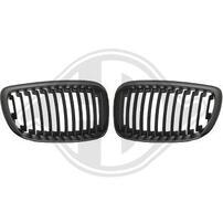 BMW E87 07-11 Решетки радиатора (ноздри) черные