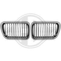 BMW E36 96-99 Решетки радиатора (ноздри) хром