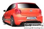 VW Polo 6R 09-14 Задний бампер
