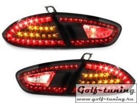 Seat Leon 1P1 09-12 Фонари светодиодные, черные
