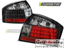 Audi A4 00-04 Фонари светодиодные, черные
