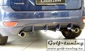 Ford Focus 08-11 Накладка на задний бампер