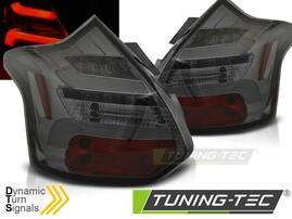 Ford Focus 11-14 Хэтчбек Фонари светодиодные, тонированные lightbar design