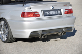 BMW E46 02- Купе/кабрио/седан Задний бампер M3-Look