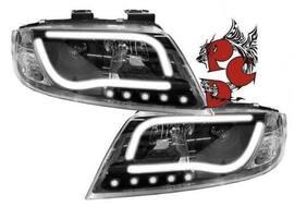 Audi A6 01-04 Фары Light-Tube черные