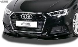 AUDI A3 8V, 8VA Sportback, 8VS Седан, 8V7 Cabrio, S-Line и S3 (Facelift 2016+) Накладка на передний бампер VARIO-X