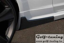 Ford Focus ST 04-11 Накладки на пороги carbon look