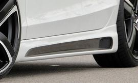 Audi A4/S4 B8 07-15 Седан/Универсал Накладки на пороги Carbon look