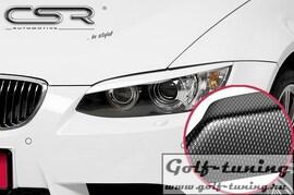 BMW  E92/E93 06-10 Реснички на фары carbon look