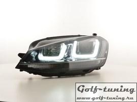 VW Golf 7 12-17 Фары R-Look с хром полосой