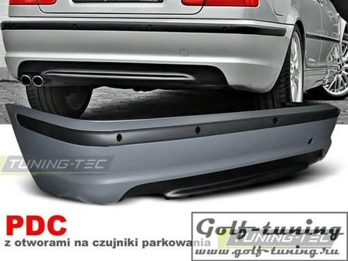 BMW E46 Седан 98-05 Бампер задний M-Technik Look +PDC