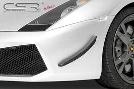 Lamborghini Gallardo 03- Накладки на передний бампер