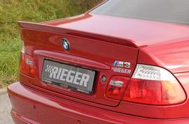 BMW E46 Купе Спойлер на крышку багажника
