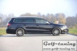 VW Passat B6 Пороги Carbon Look