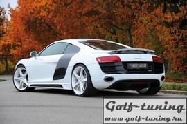 Audi R8 07- Накладки на пороги Carbon