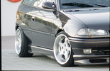 Opel Astra F Накладки на пороги