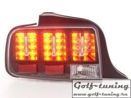 Ford Mustang 05-09 Фонари светодиодные, черные