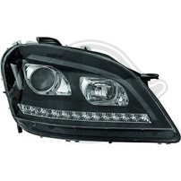Mercedes W164 05-08 Фары lightbar design черные