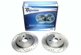Aston Martin Cygnet/Toyota IQ/Yaris Комплект спортивных тормозных дисков